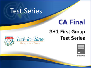 Online test series video lectures books and study material for ca final 31 first group test series by test in time fandeluxe Gallery