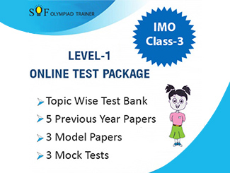 Class 3 IMO Online Test Series By MTG Learning Media Pvt Ltd