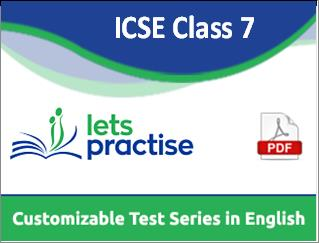 ICSE Class 7 Physics Online Test By TuPractice