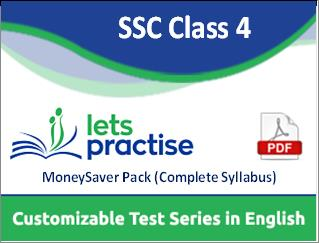 ICSE Class 4 Customizable Test Series in PDF By LetsPractise